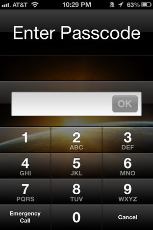 Advanced Numeric Passcode