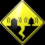 Caution Earthquake