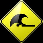 Caution Tsunami