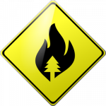 Caution Forest Fires
