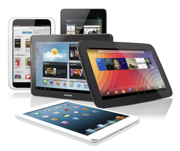 Variety of Mobile Devices