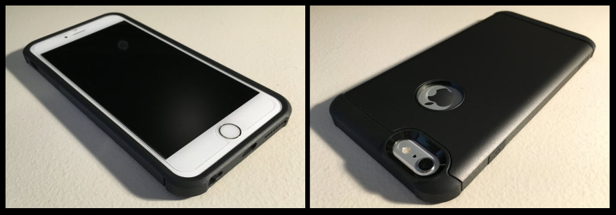 iPhone in ToughShell - Front and Back