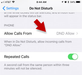 Do Not Disturb on iPhone