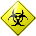 Caution Biohazard