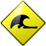 Caution Tsunami